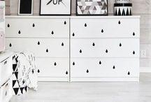DIY - Ikea hacks / Hier könnt ihr sehen, was man für tolle Sachen aus einfachen Ikea-Möbeln machen kann. Easy zum Nachmachen.