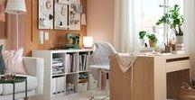 Le bureau IKEA / Un espace qui stimule votre créativité Combinaisons de rangements, luminaires, chaises de bureaux, bureaux et accessoires dans toute une série de styles et de formats mais toujours à un prix abordable.