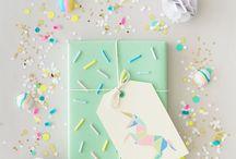 DIY - Geschenke verpacken / Die tollsten Ideen, um Geschenke schön zu verpacken.