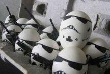 DIY - Star Wars / Fast alle Kinder stehen auf Star Wars. Hier zeige ich euch, was man alles zum Thema basteln kann.