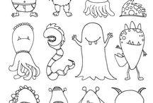 Kinder - Monster-Party / Alles für die Monsterparty. Eine extra Pinnwand zum Thema Monster.
