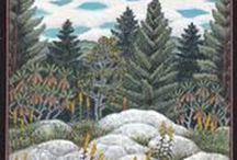 Robert Johnson / Robert Johnson's paintings document natural areas and inspire conservation and stewardship, while renewing our love and appreciation for the natural environment. He creates his paintings from his plein air notebook sketches in his studio in North Carolina.