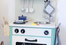 DIY - Kinderküche / Alles zum Selbermachen für die Kinderküche