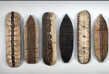 """George Peterson / """"I take an intuitive and spontaneous approach to my work. The action of shaping the wood with my hand-held tools is satisfying in a very basic way. As I work the wood, I collaborate with it; the finished piece illustrates that interplay."""""""