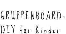 Gruppenboard - DIY für Kinder / Bastelideen für und mit Kindern, gesammelt von tollen DIY-Bloggern.