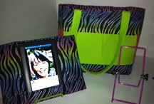 My Creations / Designer tablet covers and pocketbooks to match