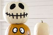 Pumpkin carving ideas / Going pumpkin picking this weekend? Here are some ideas for creating a scary jack-o-lantern. / by ABC7 News WJLA