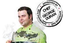 Chef George Duran Recipes / Check out these mouthwatering recipes from Chef George Duran using the COOKINA products!