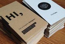 Business cards | Tarjetas de visita / Diferentes formatos y diseños de tarjetas de visita