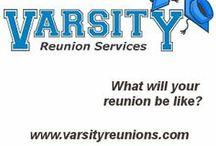 Guest Pinner: Varsity Reunions