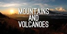 Mountains and Volcanoes / Mountains and volcanes