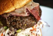 Recipes - Burgers are Us / Get out the chompers! Take the beef patty to a new art form.