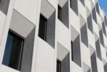 Arch // facades / plaster / Architectural facades made with plaster