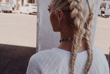 hair♡ / ♡i want my hair as long as the list of people i hate♡