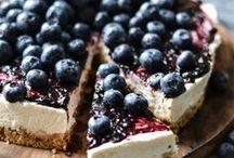 blueberries / myrtilles