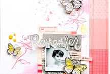 "Scrapbooking Layouts | 6x8"" and 9x12"""