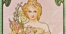 Alphonse Mucha & Art Nouveau