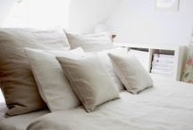 Elegant Linen Bedding by Moods / All our items are made from high quality European flax linen and can be customized for your needs.