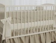 Linen Crib Bedding by Moods