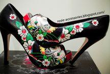 If The Shoe Fits / Flats, stilettos, pumps, boots, cowboy boots. Dressy, casual,
