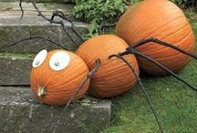 Pumpkin Decorating Ideas / October is finally here, the smell of Autumn