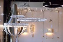 Lighting that #Glitters / Looking to add a little glitter, bling, or sparkle to your home lighting? This board features chandeliers, sconces, pendants and home decor filled with illuminating crystals that will make your home shine.