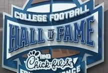 College Football Hall of Fame / Visit the College Football Hall of Fame in downtown Atlanta!