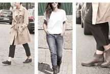 Fall Winter Looks / Fashionable styles, cool outfit with Catarina Martins shoes