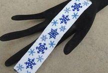 New Year's bracelet pattern