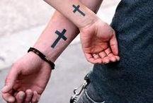 Husband and wife tatoos