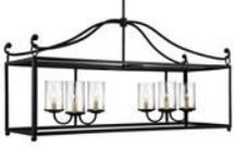 Island and Pendant Lights / any kind of lighting appropriate for a kitchen island, a bar or over a pool table