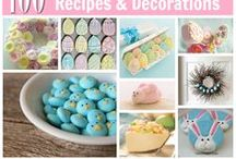 Easter / Easter recipes, decor, ideas and inspiration.