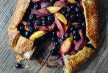Peach + Blueberry Recipes