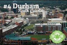 That's SO Durham! / Durham, North Carolina just so happens to be our very favorite place on earth.  Let us show you why!  Consider it an insider's travel guide to the wonders Durham has to offer.
