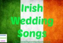 Irish Wedding Songs & Music / Irish and celtic wedding music ideas