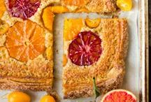All things Oranges: desserts