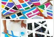 Art/Printmaking / Printmaking ideas easy and fun for everyone.