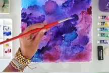 Art/Watercolor / Watercolor art projects for everyone. Tutorials, tools, tips and beautiful artworks.