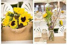 Sunflower Wedding Photos