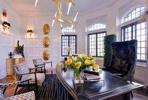 Home Office / Keith Baltimore/Baltimore Design Group  Designs range from traditional to modern, mid-century to art deco and transitional to beach style