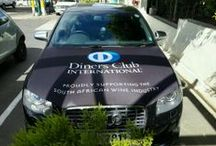 Diners Club SA Winemaker of the Year Awards / Wishing our Brandyourcar.com Brand Ambassadors a great day out at the Diners Club SA Winemaker of the Year Awards in Franschhoek... Here's some pics of the Diners Club branded cars at the event! #DinersWinemaker #CapeTown #Summer