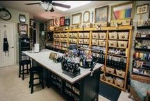 Craft Room Ideas/Crafts / Crafts DYI / by Michelle - Duarte Carter