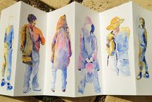 Watercolour class 2 / Ideas and inspiration for teaching watercolour  / by Judith Jerams