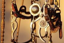 Horse Tack / Barrel racing tack and more / by Sophie N
