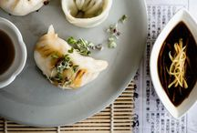 Asian cooking. / Delicious asian cuisine.