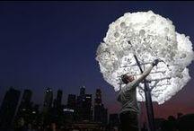 Iluminación urbana / Apostamos por una iluminación diferente y sostenible en las ciudades.