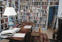 Home Office / Dreaming of a lavish writing den.