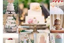 Wedding Cakes & Desserts / Luxury Cakes and Desserts inspiration for your wedding day!