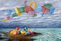 Island to play / Una raccolta delle isole giocattolo di Alberto Savinio ma non solo, piattaforme con cui giocare con la fantasia.