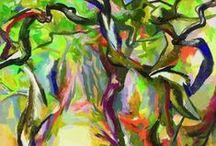 Colors Promenade / Una danza di luci e colori dedicata al Pergolato di limoni di Renato Guttuso.